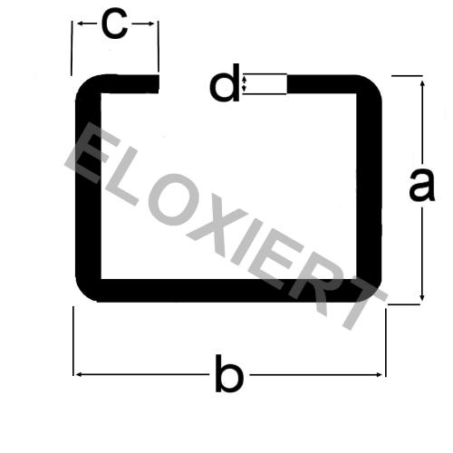 c profil e6 ev1 alu. Black Bedroom Furniture Sets. Home Design Ideas