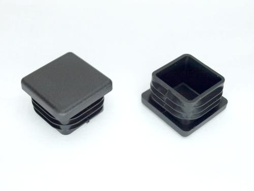 abschlu stopfen f r vierkantrohr 80x80 2 4mm alu. Black Bedroom Furniture Sets. Home Design Ideas