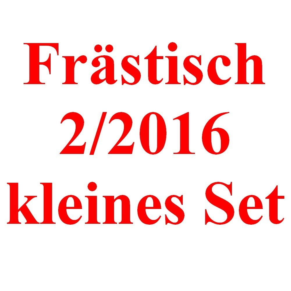 bauteil set fr stisch selbst ist der mann 2 2016 klein alu. Black Bedroom Furniture Sets. Home Design Ideas