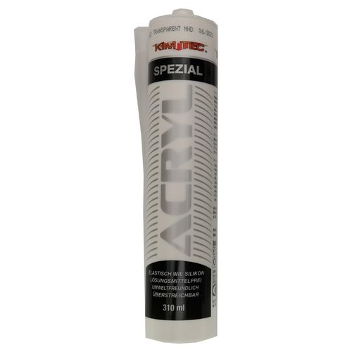 KIM-TEC Acryl Fugendichtstoff Spezial, 310ml, transparent