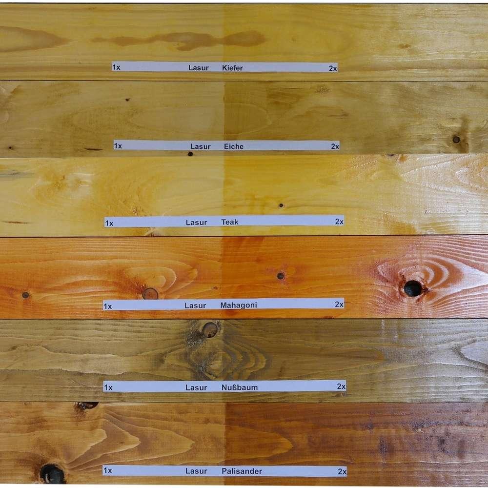 Bevorzugt Wilckens Holzschutzlasur offenporig, 5 Liter außen 7 Farben - Alu MZ32